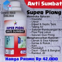 Anti Sumbat Mampet Super Plong | Sumbat Superplong utk wastafel toilet