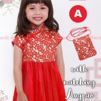 Dress Imlek (Cheong Sam / Qipao) Anak A