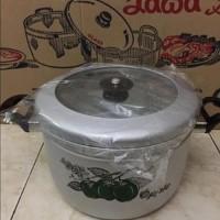 STOK TERBATAS Panci kukus Steamer Rice cooker maspion 26cm Pan Murah