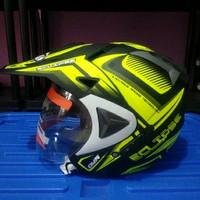 Helm semi cross DYR solidse