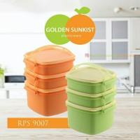 Rantang 3 Susun / Lunch Box Bahan Seperti Tupperware