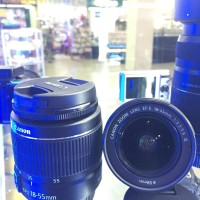 Lensa Canon Efs 18-55MM F.3.5-5.6 Mark III Garansi 1tah Termurah