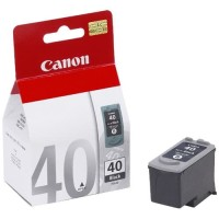 Cartridge Canon 40 Black Original Tinta Printer CN Hitam
