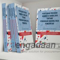 Buku Perpres No 16 Tahun 2018 Tentang Pengadaan Barang/Jasa Pemerintah