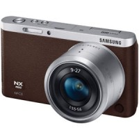 Samsung NX Mini Camera Brown   9-27mm Lens kit
