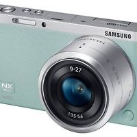 Samsung NX Mini Camera Green   9-27mm Lens kit