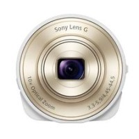 SONY DSC-QX10-W Smartphone Attachable Compact Lens Style Camera Japan