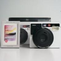 Leica Sofort Instant Film Camera - White (19100) w/ 10 exp film pack