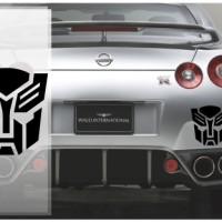 Harga stiker mobil transformer autobot sticker keren murah 10 cm laptop | antitipu.com