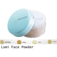 Bedak Tabur ORIGINAL Warda Everyday Luminous Face Powder pakai tempat
