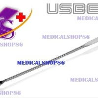 MICRO SPATULA SPOON Stainless Steel 150mm - USBECK (Germany)   3302