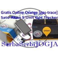 GPS Tracker GT06N Gratis Server Orange