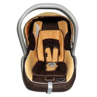 Pliko PK02 Yellow & Brown / Car Seat Carrier /Dudukan Kursi Mobil Bayi