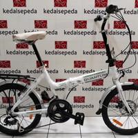 Sepeda lipat 20 Quantum alloy 2x7speed shimano