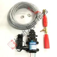 PAKET SET Mesin Cuci AC Motor Mobil Steam Power Sprayer Alat Portable