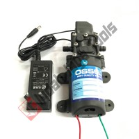 PAKET ADAPTOR Dinamo Pompa Air OSSEL 12 Volt DC 70 Psi Sprayer Pump