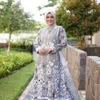 Baju Gamis Syari Katun Jepang / Baju Syari Gamis Katun Jepang