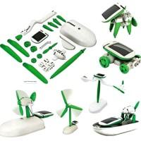 Mainan Rakitan Robot Solar DIY