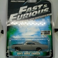 Greenlight Diecast Fast And Furious Doms Dodge Charger