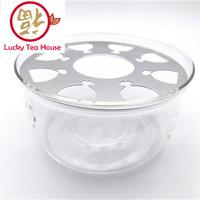 Harga heat resistant glass teapot base tea warmer pemanas kaca teko | antitipu.com