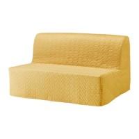 IKEA LYCKSELE LOVAS Sofa Bed / Sofa Tempat Tidur 142x100x87 cm