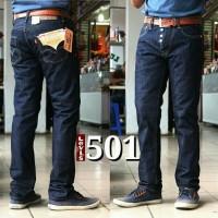 Celana jeans levis 501 grade original /biru dongker /ga