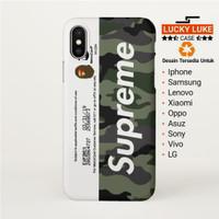 Bape Supreme case iPhone x 6s 7 8 Oppo f3 a37 f7 f1 a83 vivo v9 v5 y31