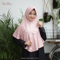 Khimar Shaliha Daily in Dusty Pink
