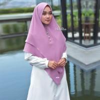 Sabila Khimar in Purple