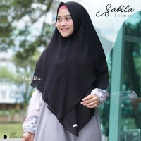 Sabila Khimar in Black