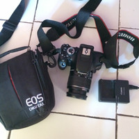 Kamera DSLR Canon 600D Second