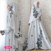Gamis wanita muslim dress syari sabiza