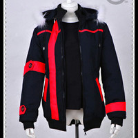 JAKET COSPLAY KIRITO WINTER ANIME SWORD ART ONLINE - SAO KIRIGAYA