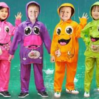 Jas Hujan Anak Kido Jas hujan anak TK SD Setelan Baju Celana