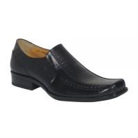 Sepatu Pria Pantofel merk Buccheri PAUL (BLACK)