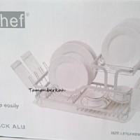 Rak Piring stainless/rak piring minimalis- informa silver