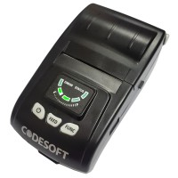 CODESOFT HP-M200 - Bluetooth Mobile Thermal Printer 58mm