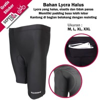 Celana Sepeda Pendek Ketat Shimano Premium Lycra Padding Busa BKS002