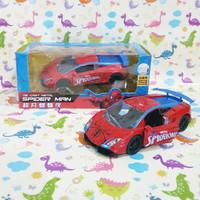 Mobil Diecast Spiderman Mainan Anak 1001