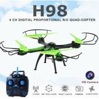 Drone JJRC H98 murah Camera 420P kamera + slot Memory Card