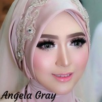 Harga softlens pengantin angela gray abu abu   antitipu.com