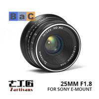 Lensa 7artisans 25mm f1.8 for sony a5000 a5100 a6000 a6300 a6500