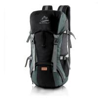 Tas Gunung Carrier Bag 50 L LOZ 308 Hitam Abu