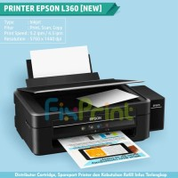 Printer Epson L360 All-in-One, Ink Tank Printer L360 (Print-Copy-Scan)