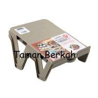 SET SHOE SPACE SAVER 2 PCS / RAK SEPATU INFORMA