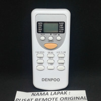 REMOTE REMOT AC DENPOO PANASONIC FUJIAIRE ORIGINAL ASLI