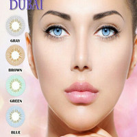 Brown softlens/soflen/softlen new more dubai warna coklat