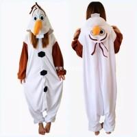 Harga baju onesie boneka olaf frozen elsa piyama baju tidur cosplay f3c1833a92