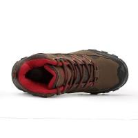 Obey Sepatu Wanita Hiking/Gunung Outdoor Snta 605 Brown Red bEST