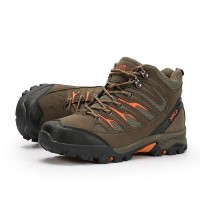 Obey Sepatu Hiking/Gunung Outdoor Snta 475 Green Orange (Ukuran 39-45)